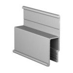 Алюминиевый багет стеновой АВД-1200