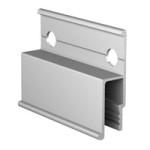 Алюминиевый багет стеновой АВД-1200c перфорированный